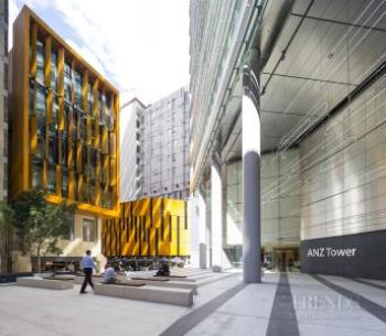 Liberty Place and ANZ Tower, Sydney CBD, with heritage upgrade, plaza, laneway