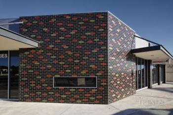 Solid, durable brick cladding for contemporary or traditional buildings
