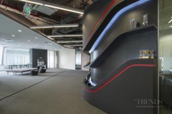 McCann Worldgroup Bangkok corporate office – interior design by DWP