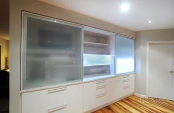 Contemporary kitchen and dining area by interiors specialist Yellowfox