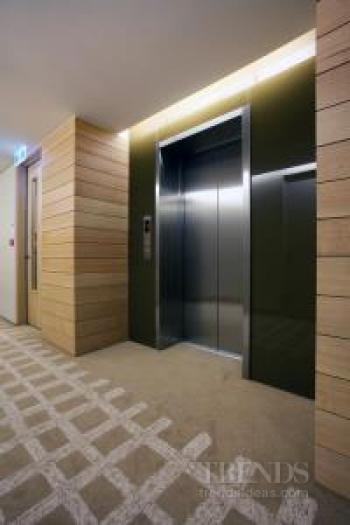 Otis smart elevator technology at Clyde Quay Wharf