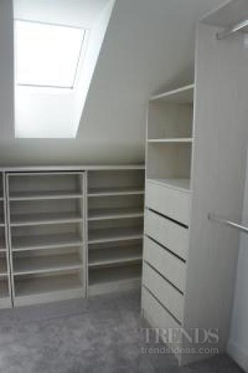 Space-saving custom storage solutions from Wardrobes Plus