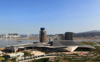 Zhuhai gateway financial hub for southern China with new convention and exhibition centre designed by RMJM and 10 Design