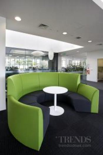 Ricoh office interior by Hauraki Design reflects commitment to sustainability and technology