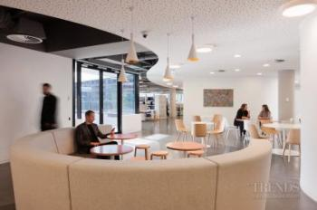 New office for Brookfield Multiplex in Melbourne features mobius-inspired circulation pathway