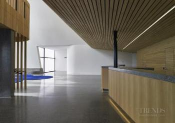College concert hall integrates architecture with precision acoustic design