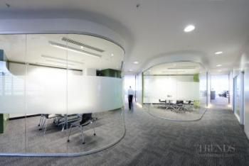 The internal fit-out of GHD required a variety of technical disciplines – Canam Interiors delivered
