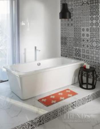 Mico Bathrooms offers advice, a Bathroom Book and a broad range from sinks to showers to cabinetry