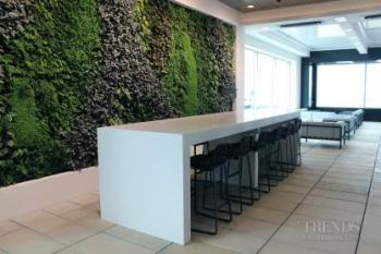 Contemporary new Air New Zealand International Lounge offers multiple zones and views the runway