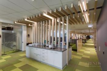 Addition of office and lab building, reception, and cafe at Synlait milk product company