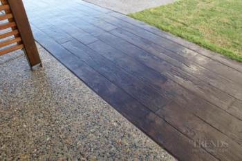 Permacolour colourants and sealers create concrete designer surfaces