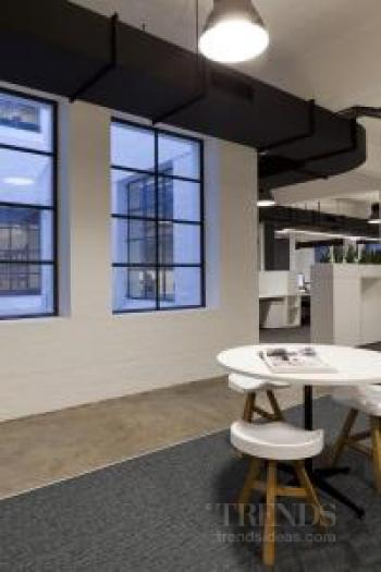 Contemporary fit-out of warehouse premises for – and by – Tanner Kibble Denton Architects