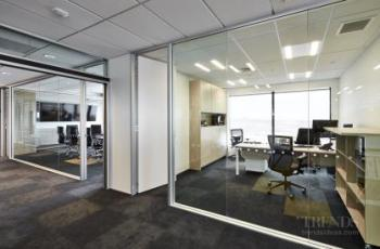 Christchurch office building reinvented with two-floor fit-out for tenant Powell Fenwick Consultants