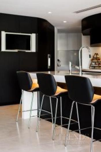 Kitchen renovation creates open-plan living with garden views