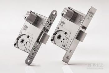 Rugged high-spec mortice lock brings peace of mind.