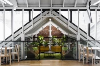 Contemporary fit-out dovetails with heritage-protected building