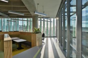 Advanced ceilings add dynamic feel to Fonterra head office