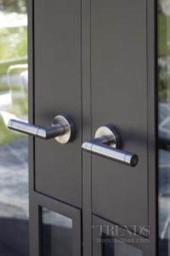 Even the door and window hardware has a touch of luxury at this Millbrook Resort home