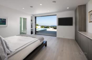 Master suite now opens up to pool, outdoor terrace and ocean views