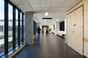 Hospital extension for care of the elderly has comforting domestic feel