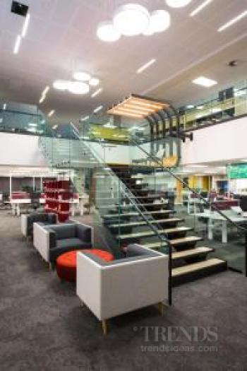 Flexible fit-out for technology-driven media hub creates an Activity Based Workplace