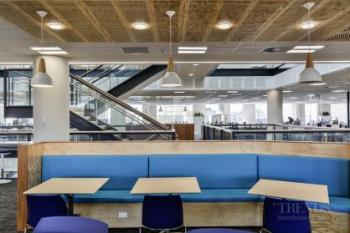 The Datacom Building combines contemporary office space with a green agenda