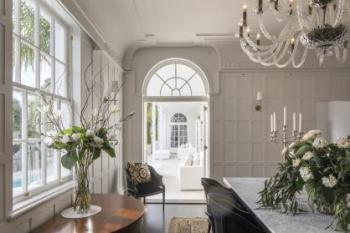Refurbishment of Georgian-style residence accentuates its original splendour