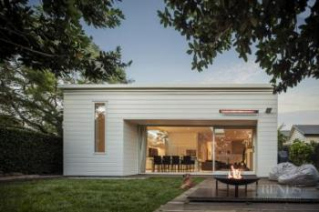 Contemporary addition features complementary elements to original villa design