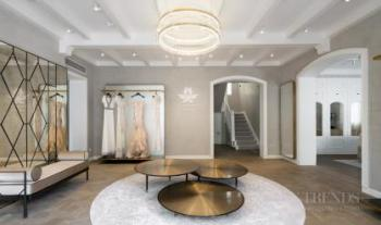 Elegant historic villa forms base of new fashion house showrooms