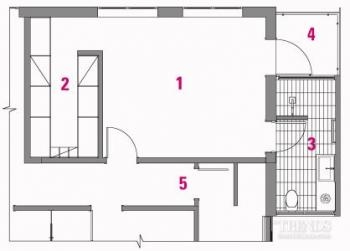 Master suite renovation includes adding a balcony and ensuite on the end of this home