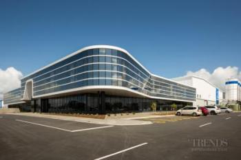 Award-winning industrial building reflects company's innovative attitude