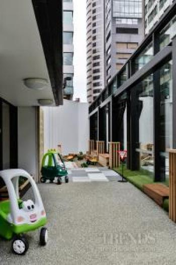 Child centre designed with a child's perspective in mind