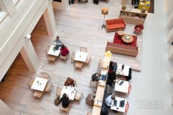 Does the traditional office space lead to more productive and more creative workers?