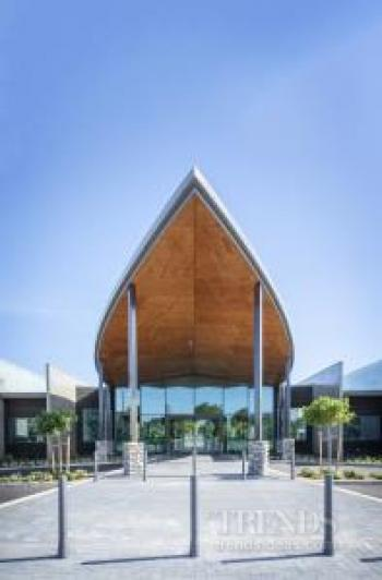 A variety of paints and finishes set off exteriors and interiors at new Palmerston North health centre