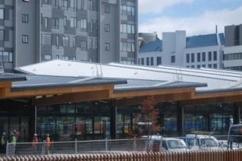 New inner city transport hub benefits from advanced roof system