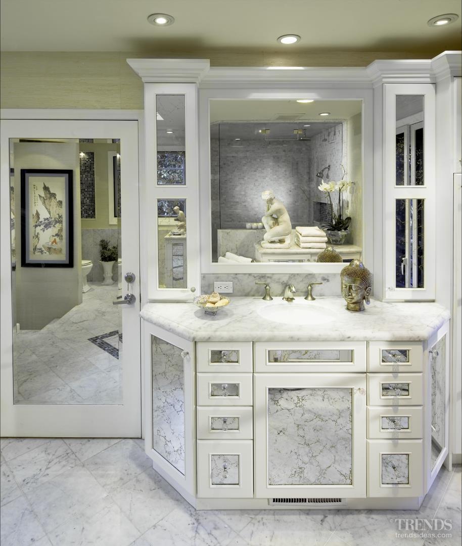 Classical Ornate Marble Bathroom By Dewitt Designer Kitchens