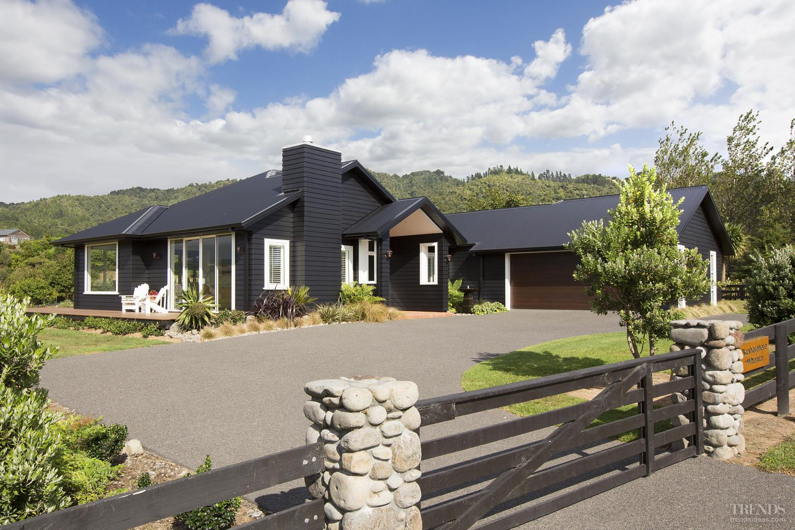 Award Winning Country Home With Black Cladding