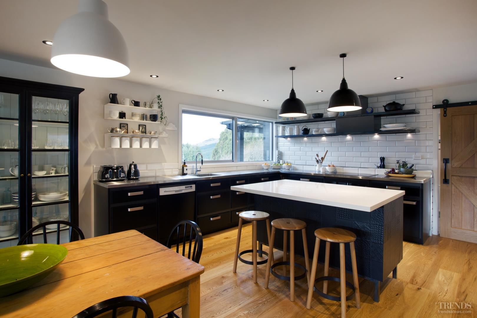 Farmhouse kitchen renovation has steel benchtops, cabinets…