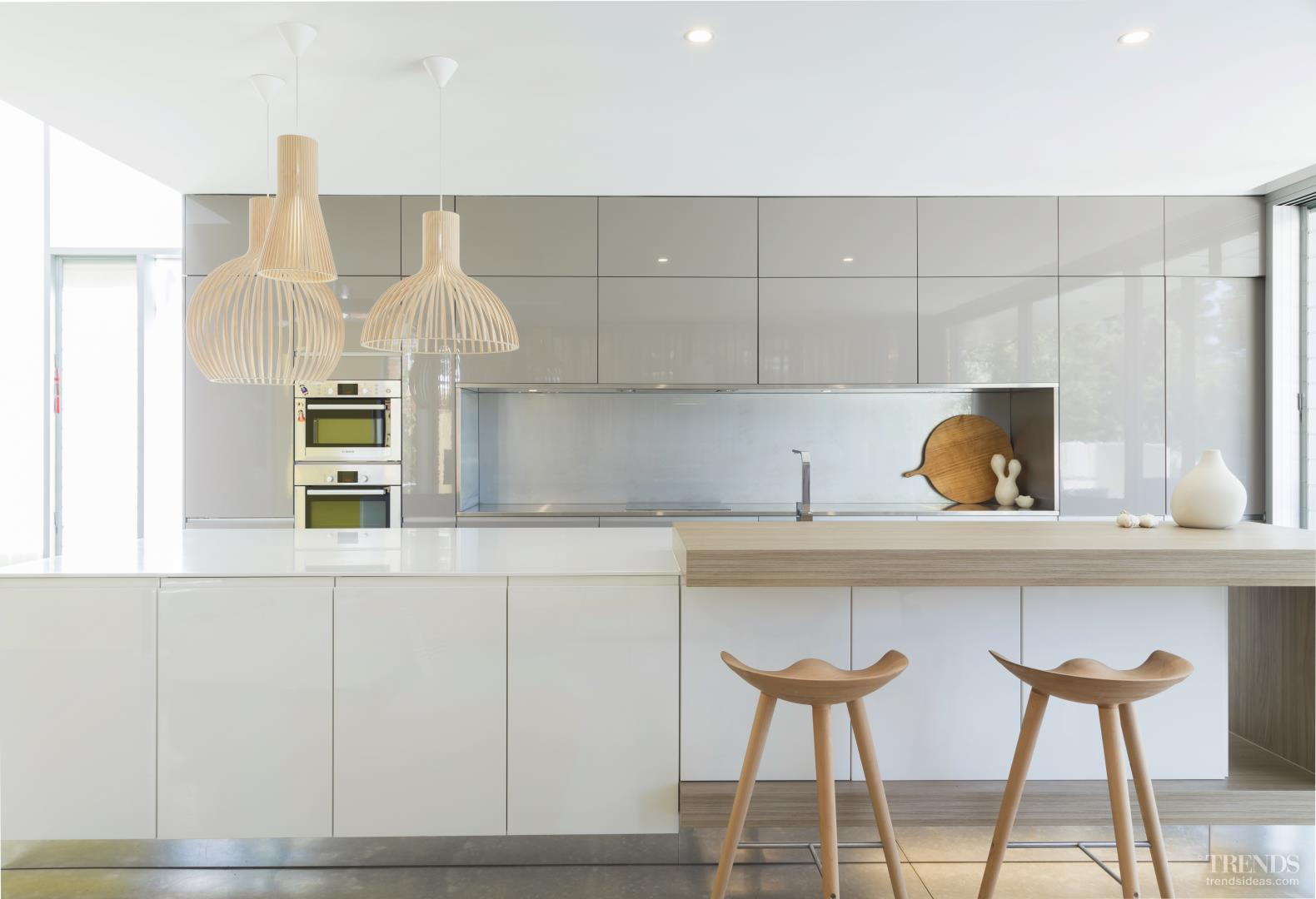 Minimalist Kitchen With Quiet Palette And Minimal Detailing