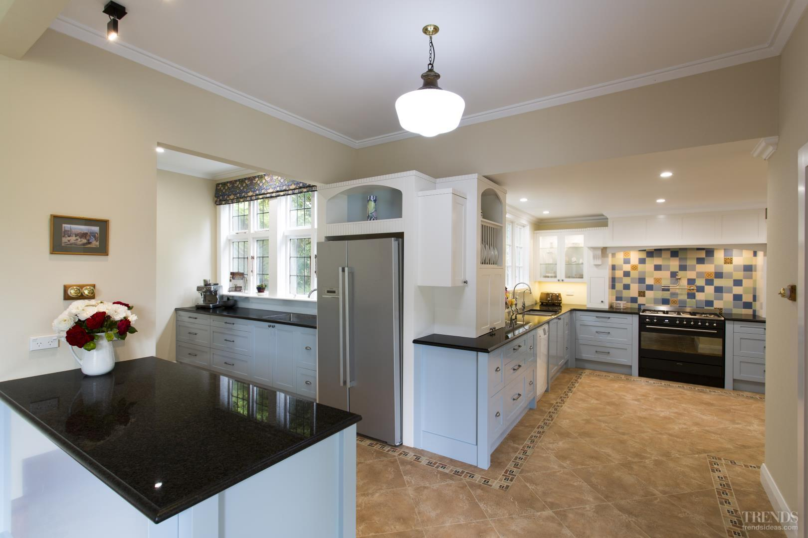 multi space kitchen by mastercraft kitchens with mosaic