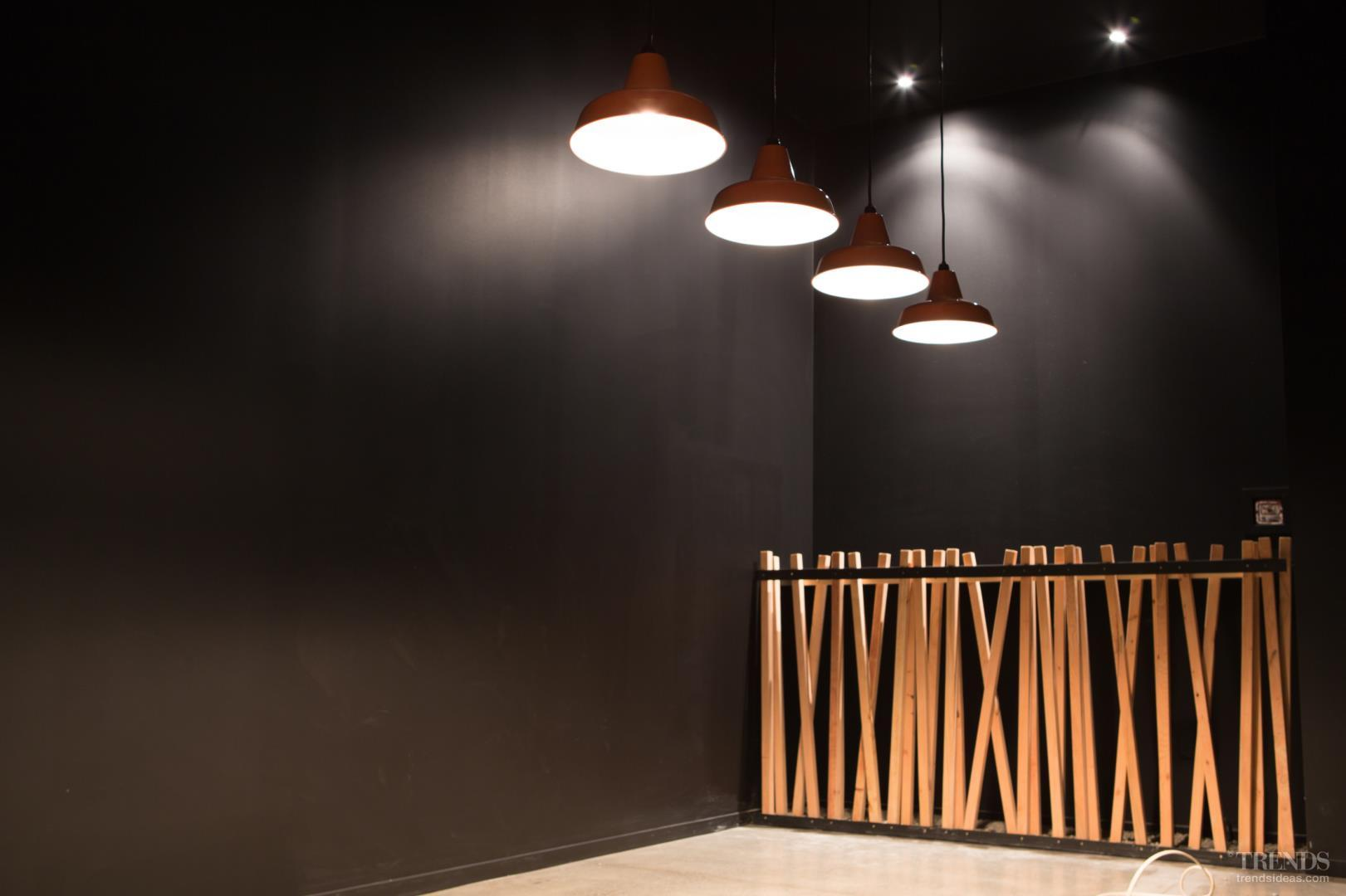 Contemporary atmospheric fit out breaks with traditional