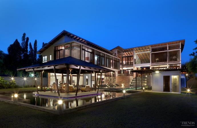 Resort-style home by architect Kun Lim
