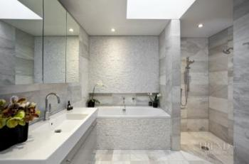 Designer's call - Subdued tranquil bathroom renovation by Fiona Wilson