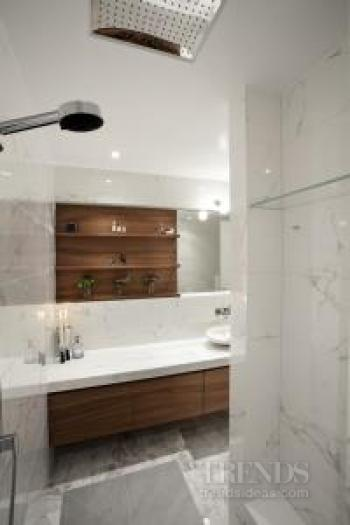Light touch – penthouse bathroom remodel