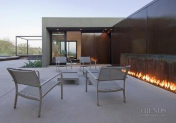 Call of the desert – house by Ibarra Rosano Design Architects