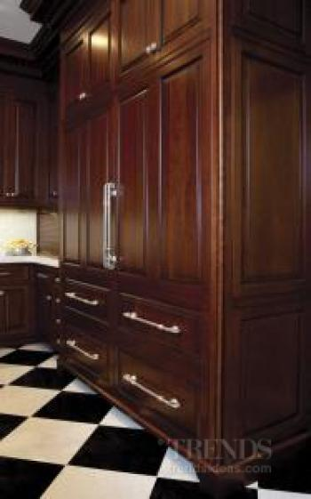 By special request – traditional kitchen in cherry