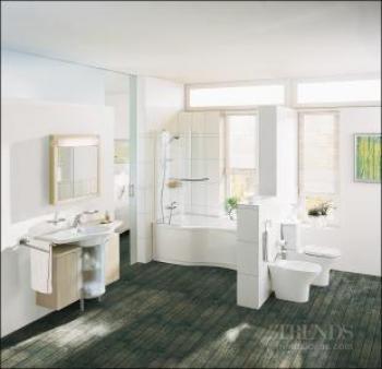 Fresh look at bathrooms