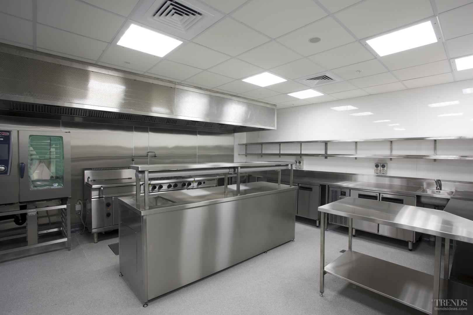 Catering to the times wildfire fit out of commercial kitchen for anz renovation - Commercial kitchen designer ...