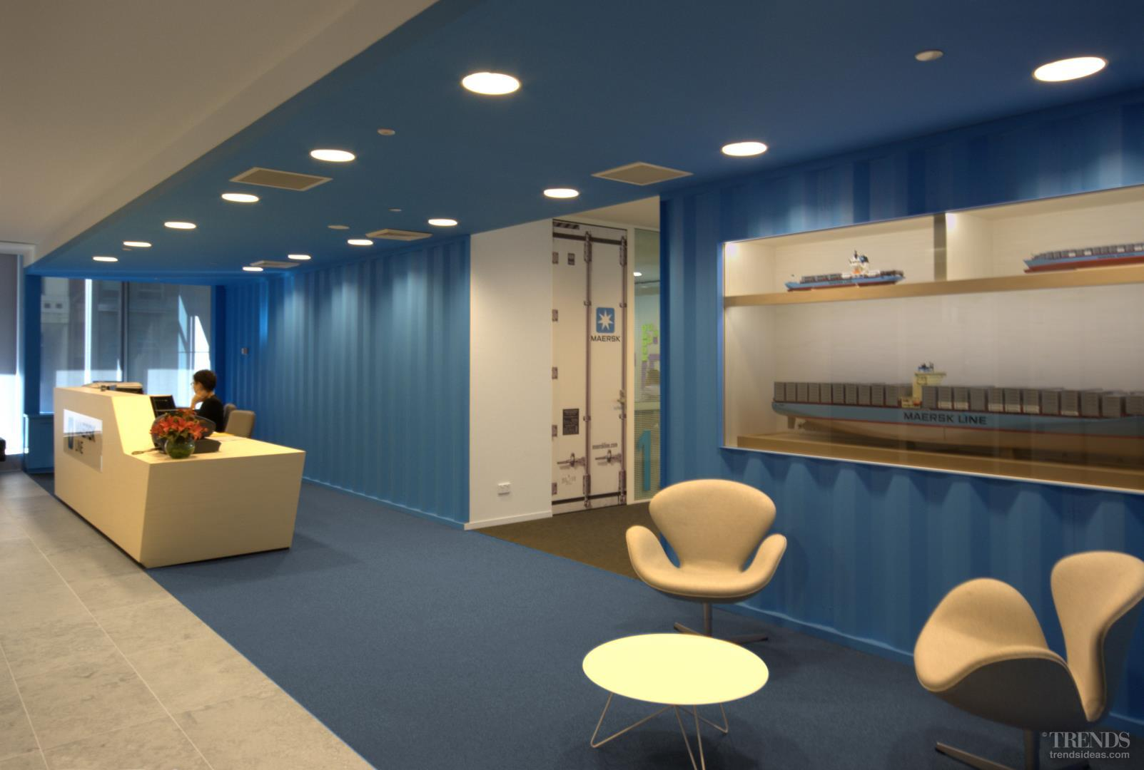 Transported – Maersk Line fit out by Siren Design