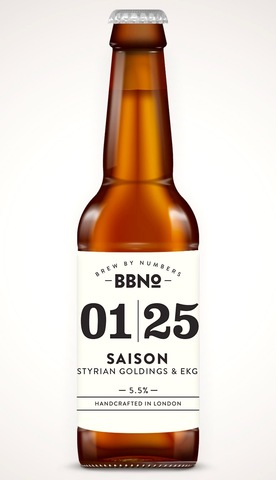 Brew by numbers 01 25 saison